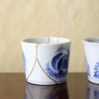 金継ぎ 陶器 再生